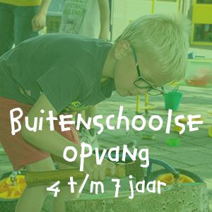 buitenschoolse opvang 4 t/m 7 jaar
