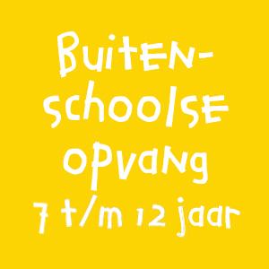 buitenschoolse opvang 7 t/m 12 jaar